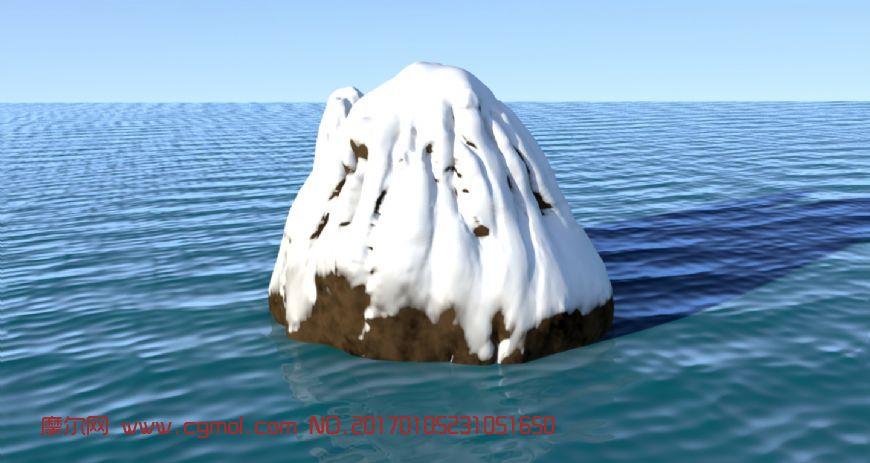 海中的雪山�鼍�