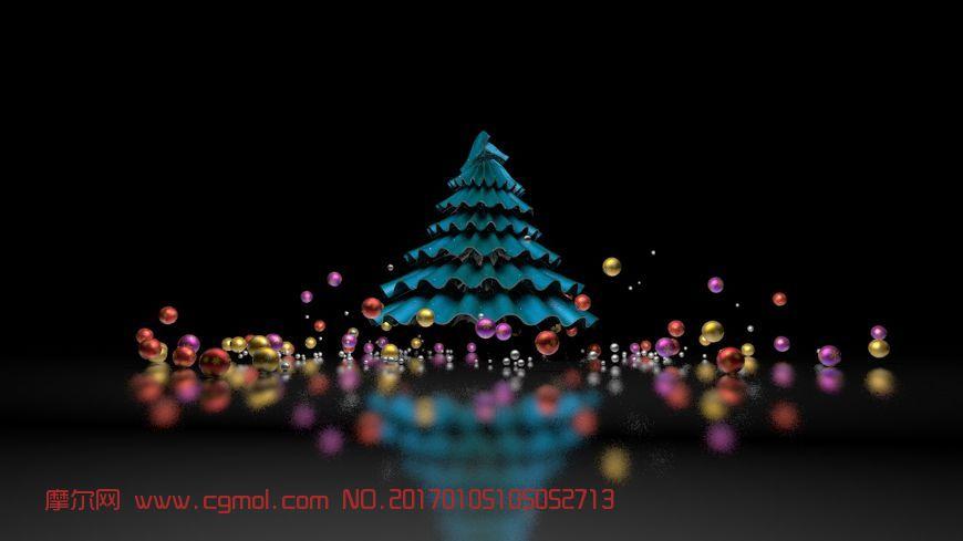 圣诞树动力学