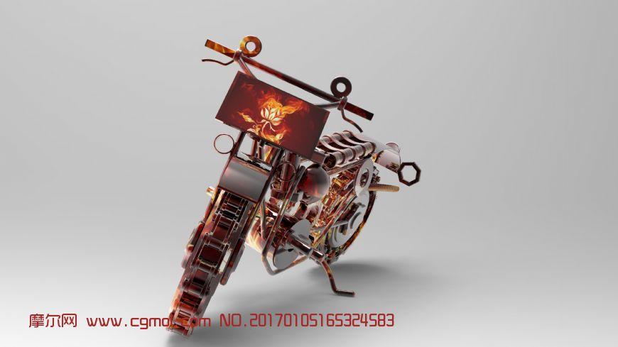 机械摩托车