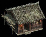 高精古时农民房子,古代建筑(网盘下载)