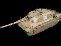 坦克模型,高精度