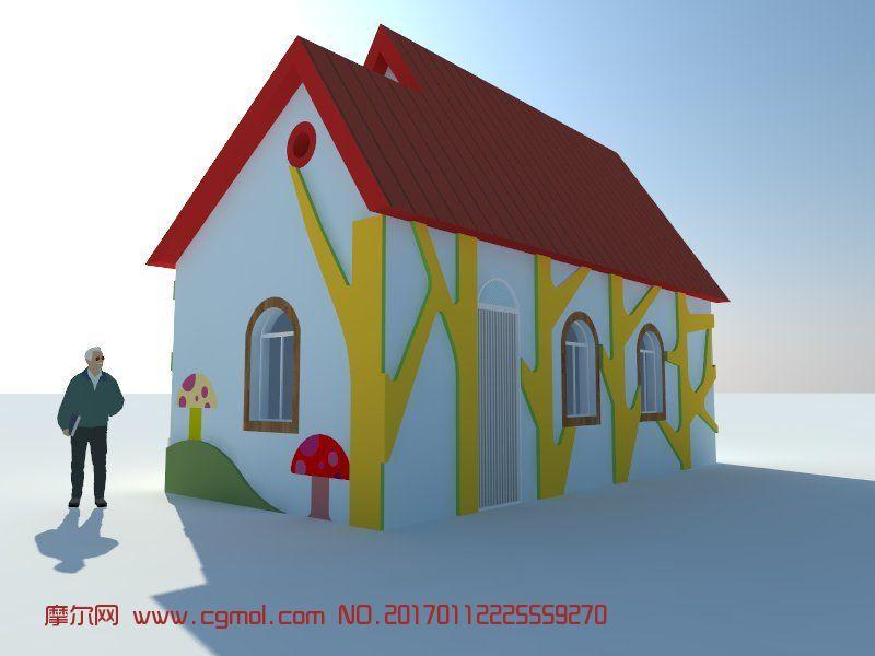 小房子,小门卫室