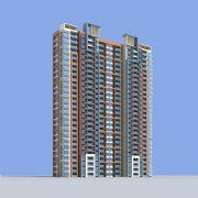 现代住宅高层