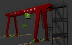 原创龙门吊,起重机,港口设备,吊机
