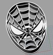 蜘蛛侠面具stl模型