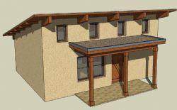 农村房屋设计su模型