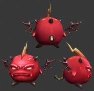 红色小恶魔max模型