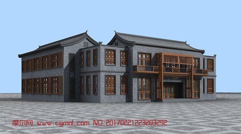 中式古建商业