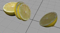 切柠檬maya2009模型