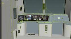 Hxd1b火车模型,,带驾驶室