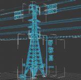 高压输送电塔