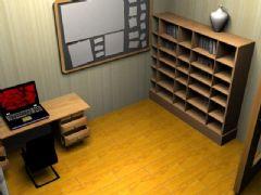 室内模型,客厅,卧室