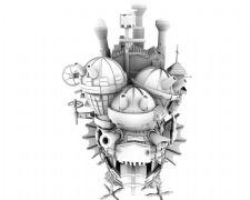 哈尔的移动城堡maya模型