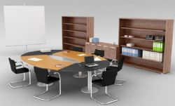 圆形桌会议室