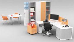 饮水机+茶几+办公桌+文件柜组合