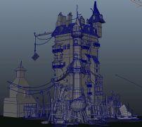海�城堡�U墟建筑