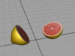 柚子,红柚maya2009模型