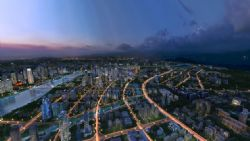 �F代城市夜景�B瞰�赢�max模型(�W�P下�d)
