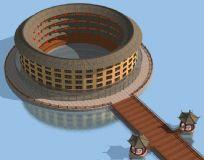 土楼max模型