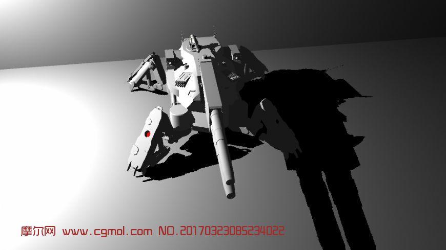 maya机械装甲