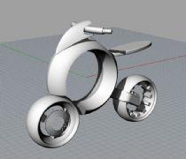 概念电动车-犀牛建模