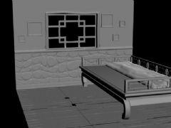 古典室内小角落,小场景