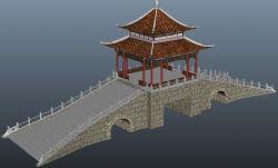 古代�L雨�蛲ぷ�maya模型