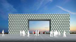 大门设计,多边形墙体