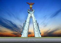 汉宫-城市雕塑设计