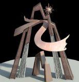 城市阳光雕塑设计