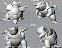 水战龟3D打印文件
