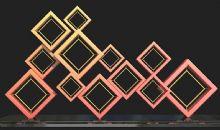 菱形雕塑�O�