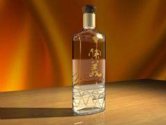 玻璃瓶子,酒瓶,材质贴图全