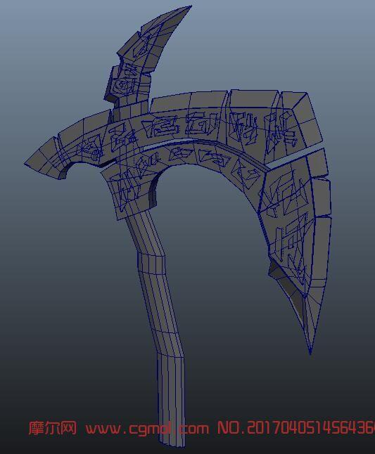 maya斧子