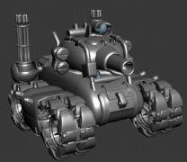 合金弹头-火炮坦克