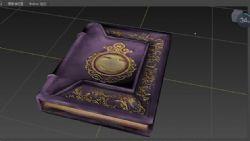 自制魔法书书籍