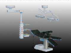 电动手术床和无影灯模型