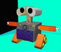 《机器人总动员》瓦力设计maya制作