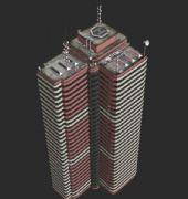 有停机坪的大厦,obj,max,c4d多种格式