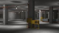 地下室施工照明�鼍�