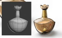 香水瓶max模型