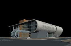 现代车站,游泳馆