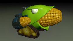 植物大战僵尸2玉米加农炮
