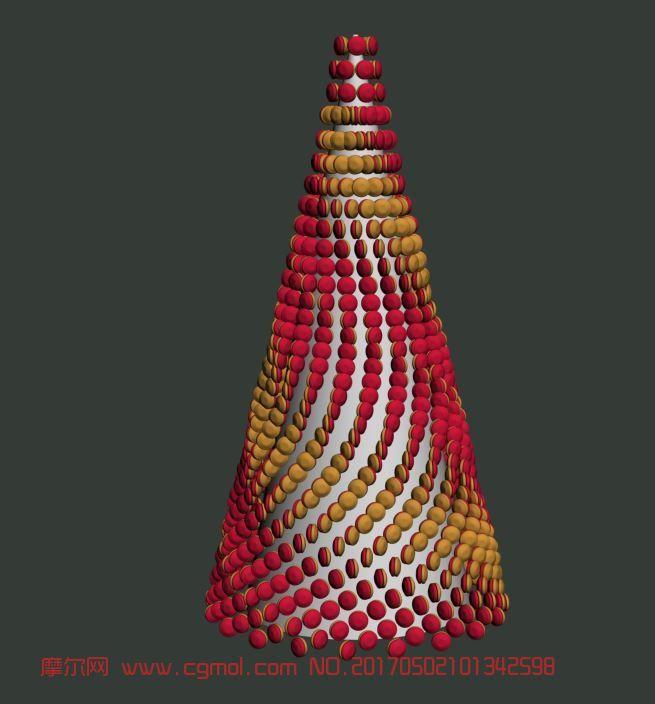 马卡龙圣诞树