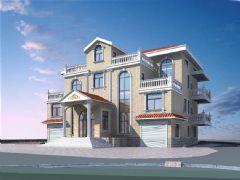 三层独栋别墅,带车库