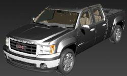 GMC重型皮卡车模型