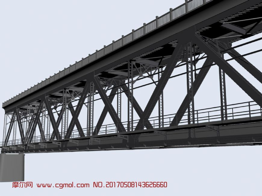 带铁轨的钢架桥,钱塘江大桥