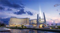 三亚红塘湾酒店全景设计max模型(网盘下载)