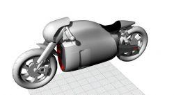摩托车-犀牛建模