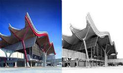 大型交通车站设计max模型